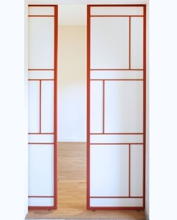 Porte coulissante modèle Akemi