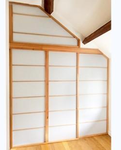 Porte coulissante modèle Nagoya
