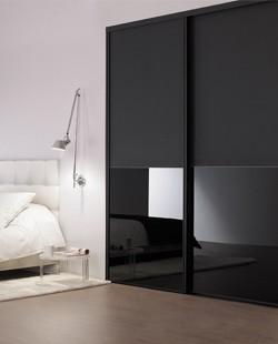 Porte de placard modèle Duo - Porte coulissante par Espace et Mieux-Être - Conception et installation sur mesure