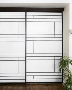 Nuancier pour gamme japonaise et meuble en bois massif sur mesure