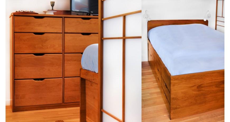 Aménagement d'une chambre et son bureau